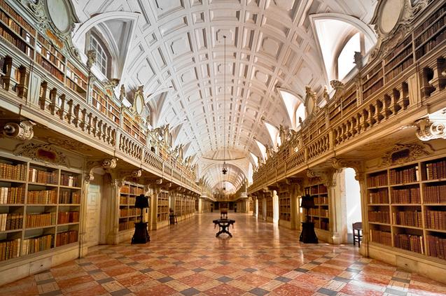 biblioteca-nacional-de-Mafra
